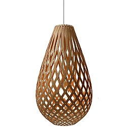 Koura Pendant Light (Caramel/20 Inch) - OPEN BOX RETURN