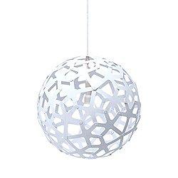 Coral Pendant Light (White/16 inch) - OPEN BOX RETURN