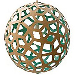 Coral Pendant (Natural and Aqua/24 inch) - OPEN BOX RETURN
