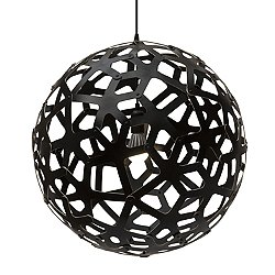 Coral Pendant (Black Paint/31 Inch) - OPEN BOX RETURN
