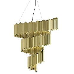 Brubeck Spiral LED Chandelier