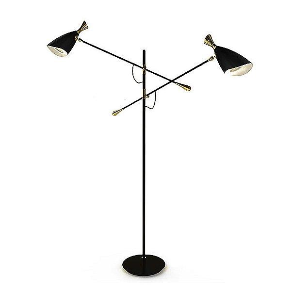 Duke 2 Light Floor Lamp