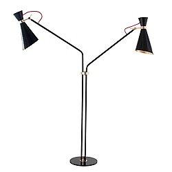 Simone 2 Light Floor Lamp