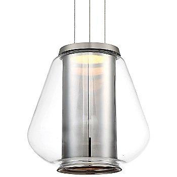 Shown in Transmirror Chrome Glass