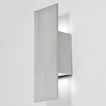 14 inch / Brushed Aluminum finish, illuminated