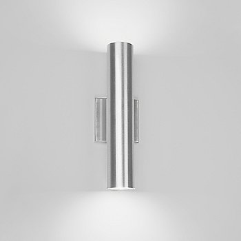 Brushed Aluminum finish / Two-way light