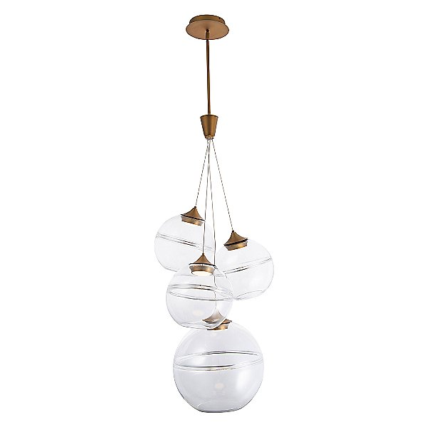 Bistro LED Multi-Light Pendant Light