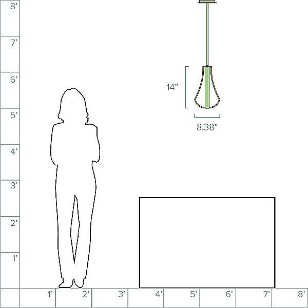 Artemis LED Mini Pendant Light