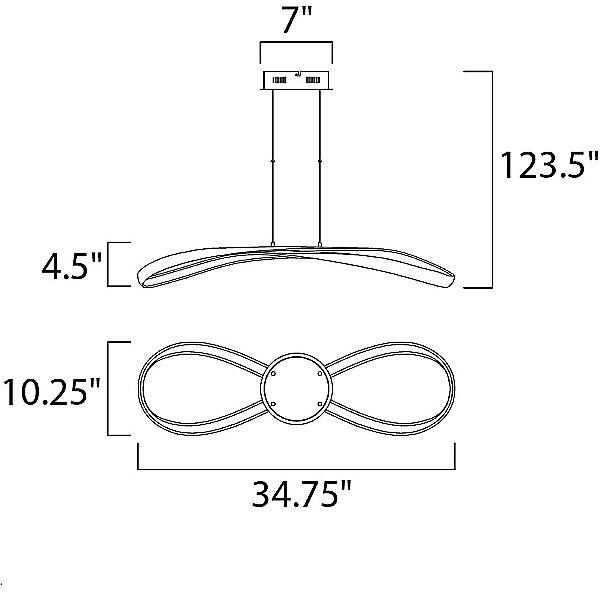 Agosto E24737 LED Pendant Light