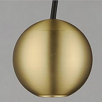 Satin Brass finish / illuminated