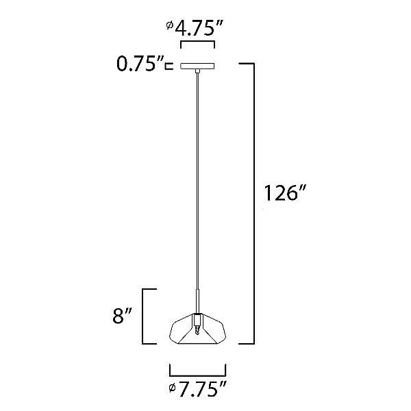 Alvise 10042 Mini Pendant Light