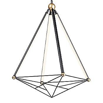 Black and Gold finish / Medium size