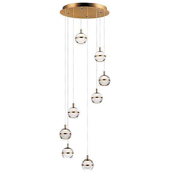 Sylvana LED Multi-Light Pendant Light