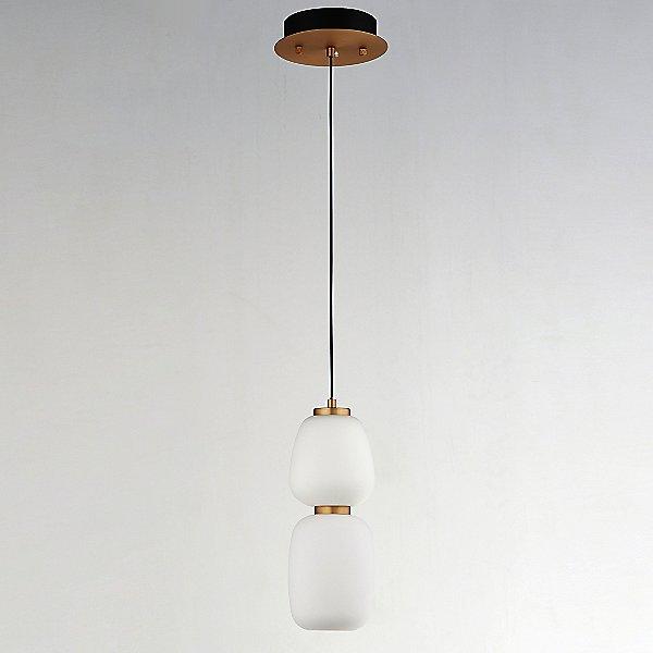 Ezio 2 Light LED Mini Pendant Light