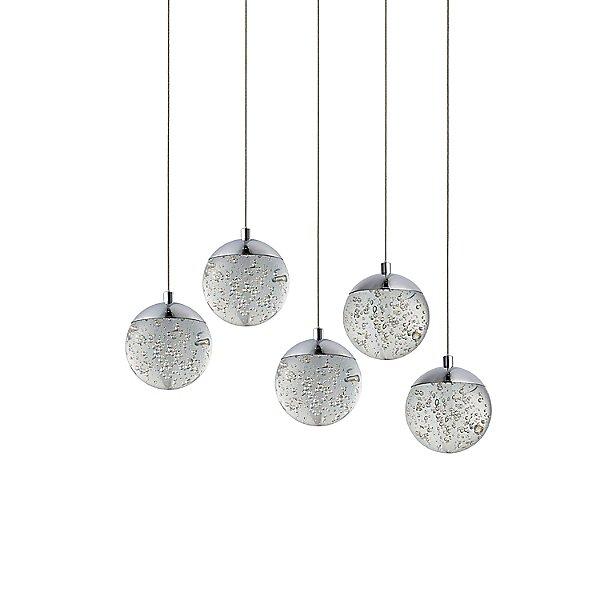 Carlato LED Rectangular Multi-Light Pendant Light