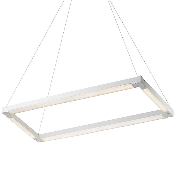 Nicia LED Rectangular Chandelier