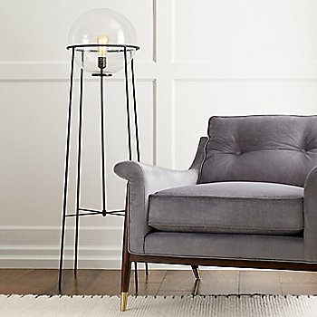Atlas Floor Lamp, In use