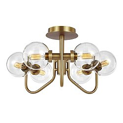 Verne Semi-Flush Mount Ceiling Light