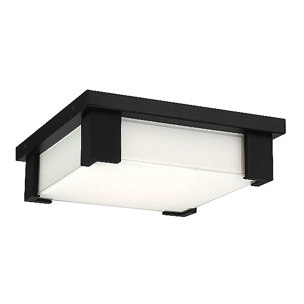 Huxe Pianura Led Outdoor Flush Mount Ceiling Light Ylighting Com