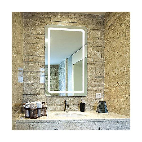 Aria Radius LED Lighted Mirror with AVA