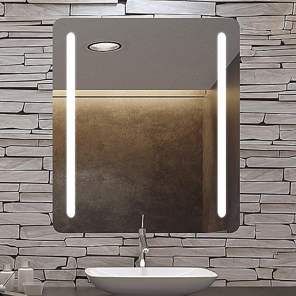 Bela Radius LED Lighted Mirror