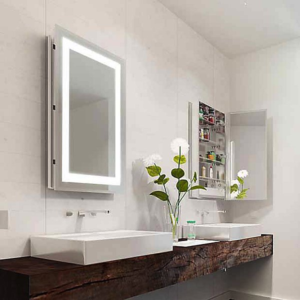 Ambiance Mirrored Cabinet