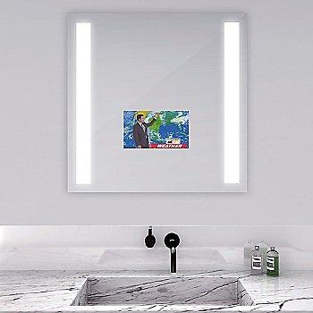 Mirror finish / illuminated / in use