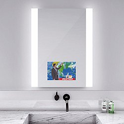 Novo Lighted Mirror with Television