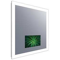Silhouette Lighted Mirror with Television