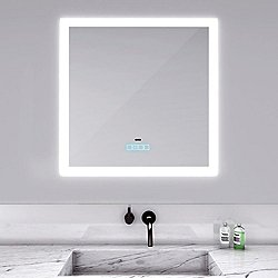 Silhouette Lighted Mirror with Vive Technology