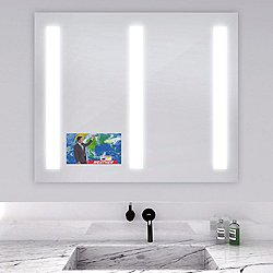 Triple Fusion Lighted Mirror with Television