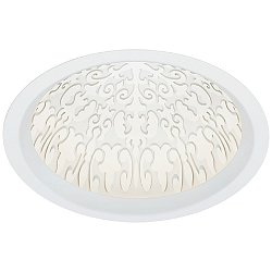 ELEMENT Reflections Fleur 12 Inch Dome Trim