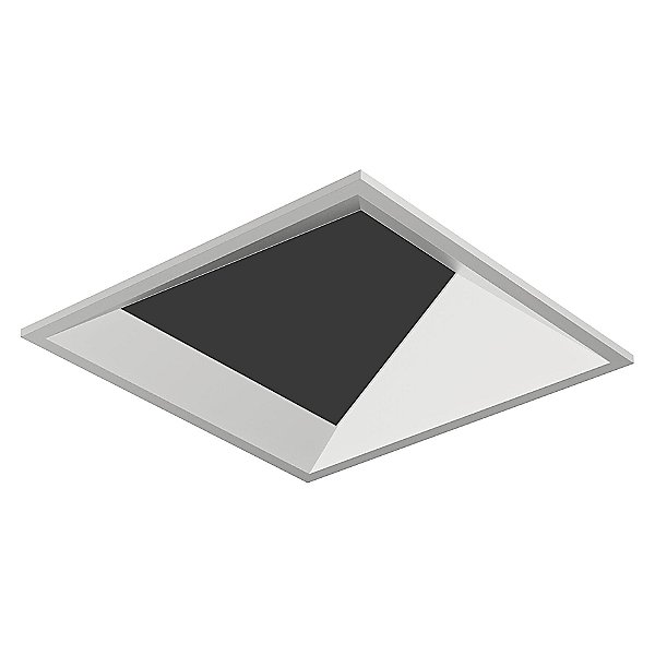 Entra Flangeless Adjustable Square Wall Wash Trim