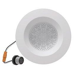 Fleur 6 Inch Reflections Retrofit LED Trim