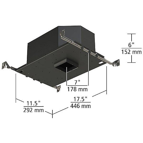 3-Inch LED Adjustable Housing