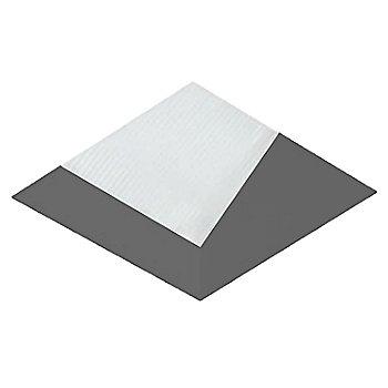 Black finish / Square shape / Flangeless