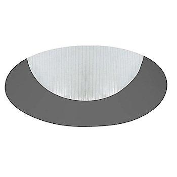 Black finish / Round shape / Flangeless