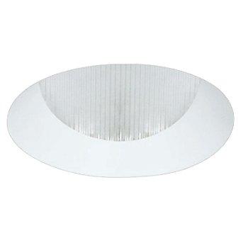 White finish / Round shape / Flangeless
