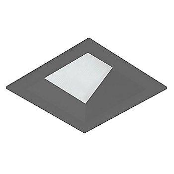 Black finish / Square shape / Flanged
