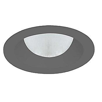 Black finish / Round shape / Flanged