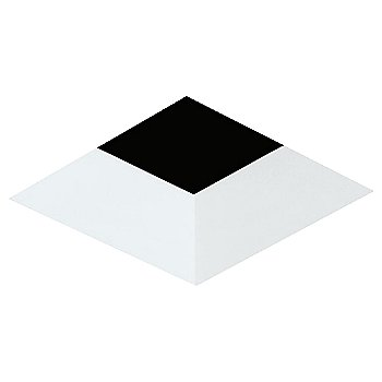 White finish / Square shape / Beveled Option