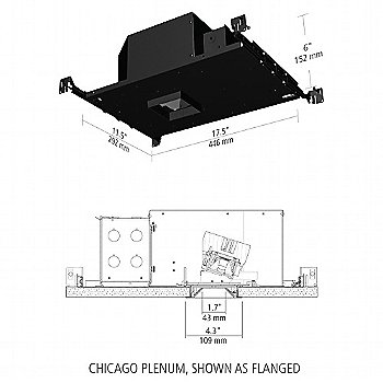 Chicago Plenum Schematic