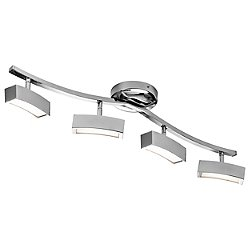 Landon LED 4-Light Linear Fixed Rail Kit