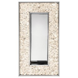 Crushed Ice LED Rectangular Wall Sconce