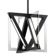 Black Geometric Pendant Lighting