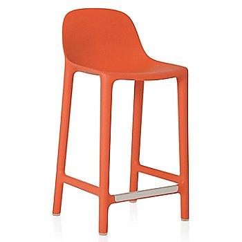Orange finish / Counter Height
