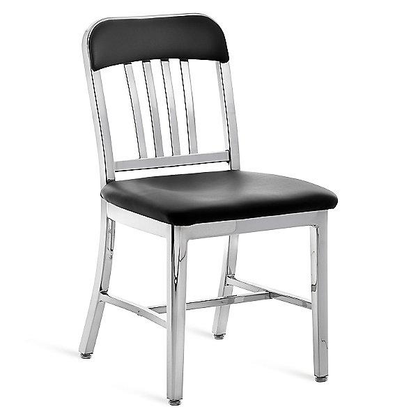 Emeco Navy Semi Upholstered Chair Ylighting Com
