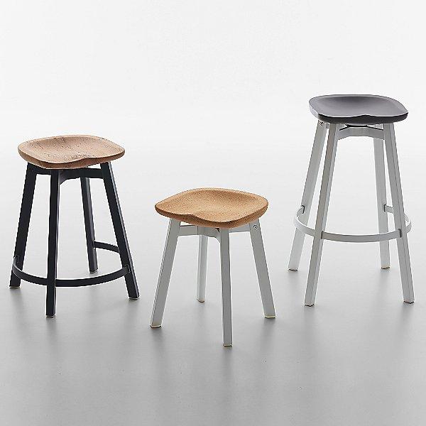 Su Small Stool, Cork Seat