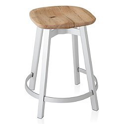 Su Stool, Wood Seat