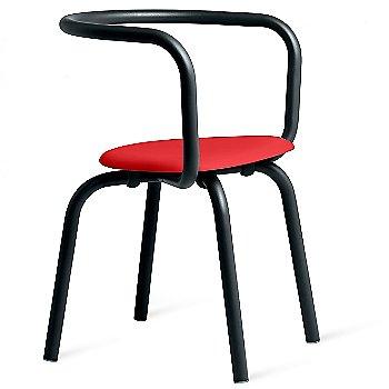 Black / Polypropylene - Coral Red